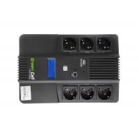 Green Cell UPS brezprekinitveno napajanje AiO 600VA