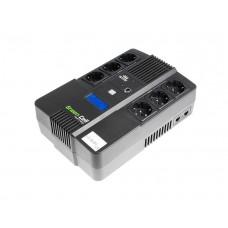 Green Cell UPS brezprekinitveno napajanje AiO 800VA